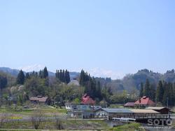 道の駅 中条からの眺め(1)