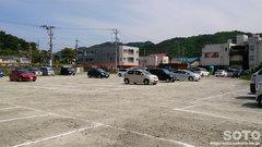 道の駅「浅虫温泉」の臨時駐車場