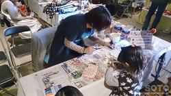 陶器レジン体験in天聴マルシェ