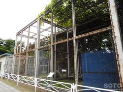 斜里町立知床博物館(ワシ飼育舎)