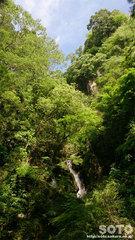 清水瀑園(滝)