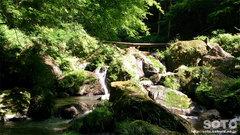 清水瀑園(遊歩道)