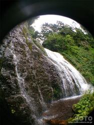 男鹿の滝(魚眼)