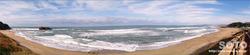 白兎海岸(パノラマ)