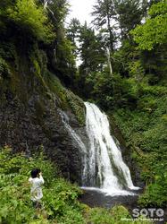 男鹿の滝(7)