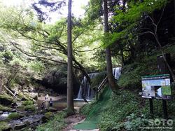鍋ヶ滝(遊歩道)