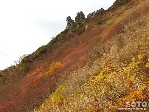 黒岳〜桂月岳2017紅葉