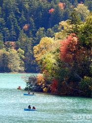 然別湖(カヌー)