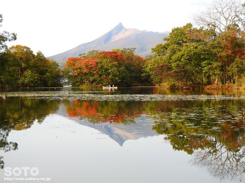 大沼国定公園2017紅葉