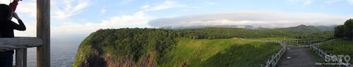 フレペの滝遊歩道(パノラマ)