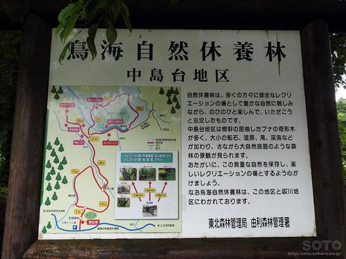 獅子ヶ鼻湿原(案内板)