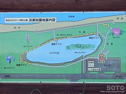 浜勇知園地(案内図)