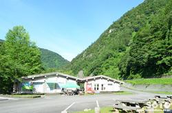 白山スーパー林道(中宮温泉野営場)