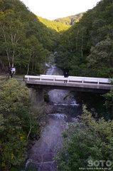 カムイワッカ湯の滝(2)