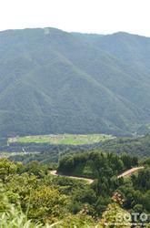 白山スーパー林道(白川郷展望台からの眺め)