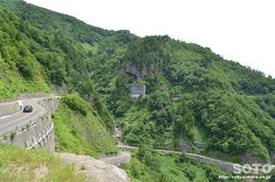 白山スーパー林道(国見展望台からの眺め)