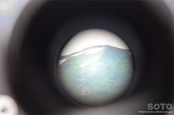白山スーパー林道(望遠鏡から)