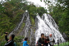 オシンコシンの滝(2)