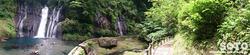白水の滝(パノラマ)