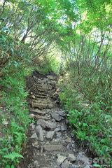 銀泉台(登山道2)