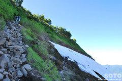 銀泉台(登山道4)