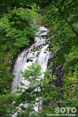 熊越えの滝(滝2)
