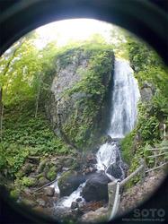 桜松公園(不動の滝)