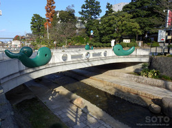 玉造温泉郷(橋)