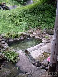 木下小屋(露天風呂)