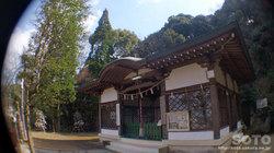 日奈久温泉(温泉神社 拝殿)