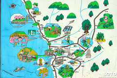 乙部温泉(地図)