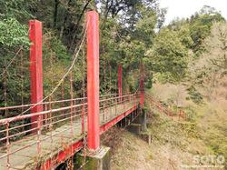 岩屋神社(吊り橋)