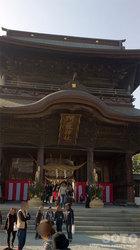 阿蘇神社(楼門)