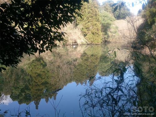 菊池神社から雲上宮へ(親王の出水)