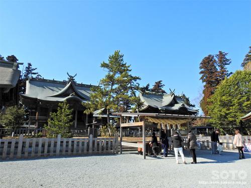 阿蘇神社(拝殿)