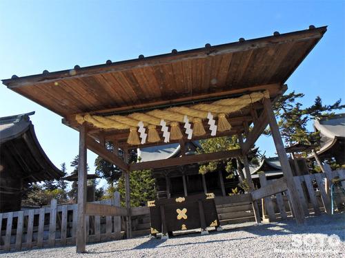 阿蘇神社(仮拝殿)