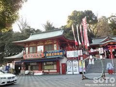 熊本城稲荷神社(1)