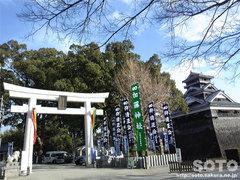 加藤神社(鳥居)