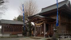 浮島神社(拝殿)