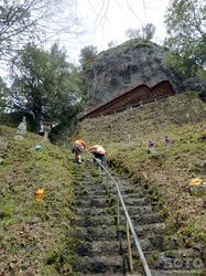岩屋神社(石段)