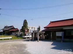 出雲神社と松長龍神