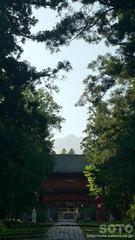 岩木山神社と岩木山
