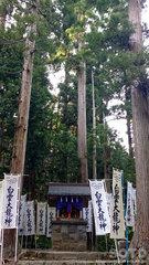 岩木山神社(白雲大龍神2)
