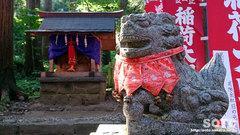 岩木山神社(お稲荷さんと狛犬)