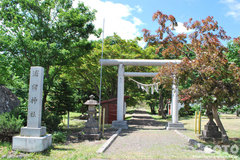 浦臼神社(鳥居)