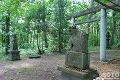 浦臼神社(第2の鳥居)