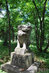 浦臼神社(狛犬)