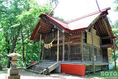 浦臼神社(拝殿)
