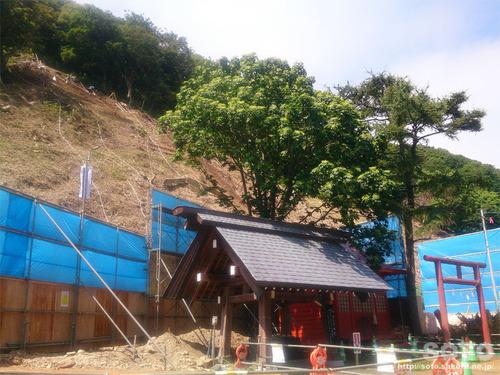 北門神社(工事中)