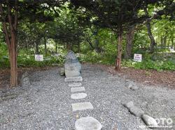 千歳神社(筆塚)